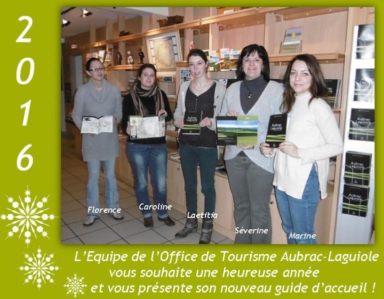 Bonne ann e et nouveau guide d 39 accueil aubrac lagu aubrac laguiole fr - Office de tourisme aubrac ...
