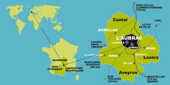 Aubrac Carte Geographique | tonaartsenfotografie